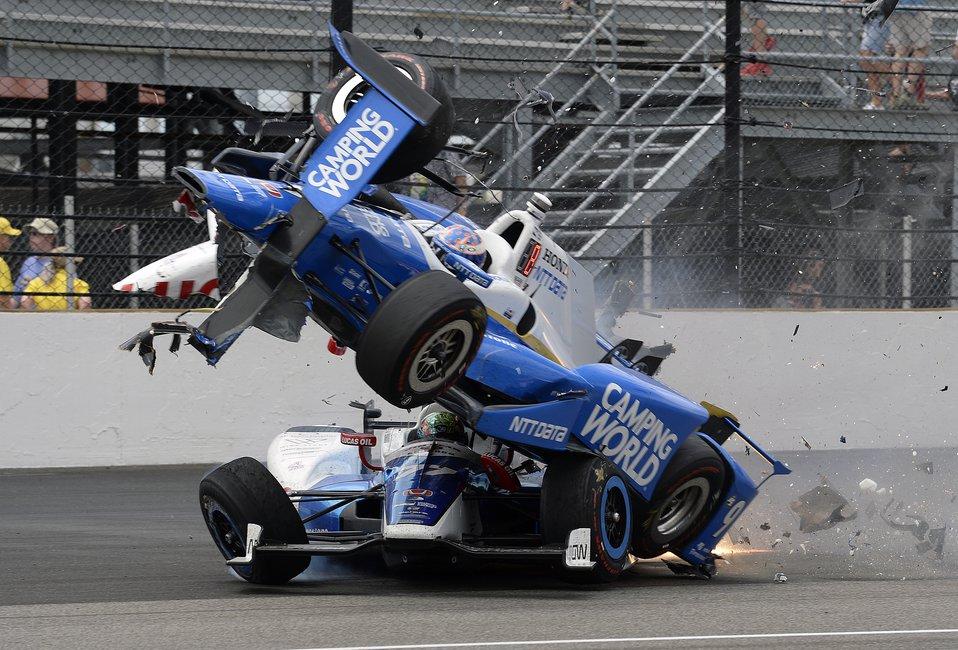 Το φετινό Indy 500 τα είχε όλα! [video+photos]