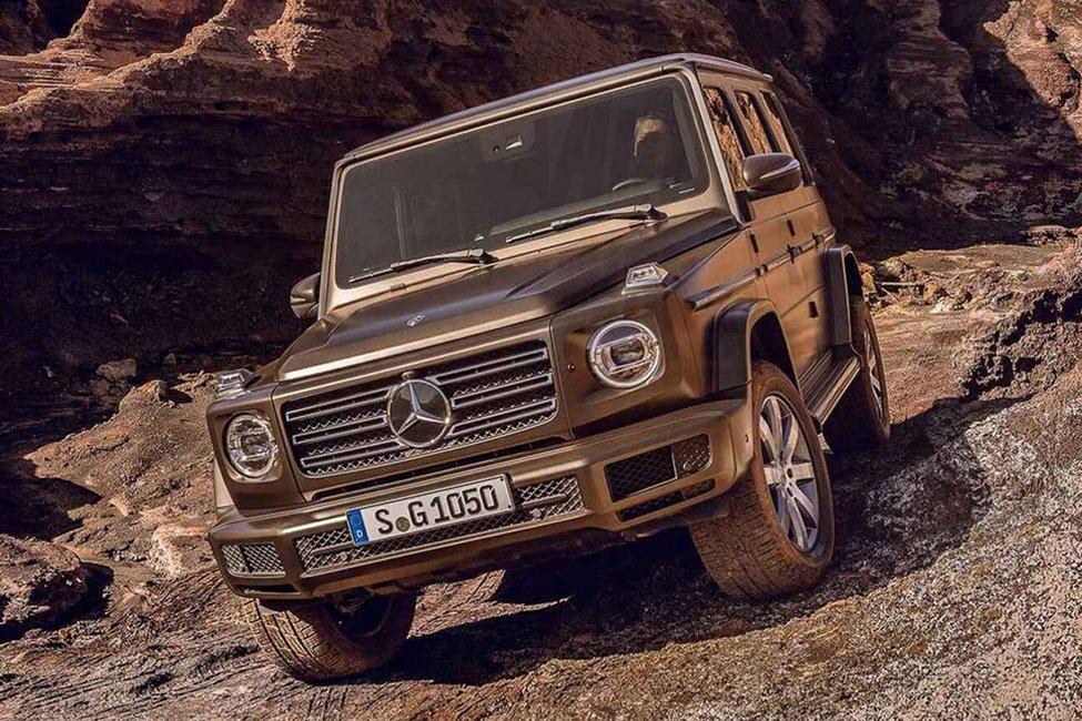 21+1 pics για τη νέα Mercedes-Βenz G-Class