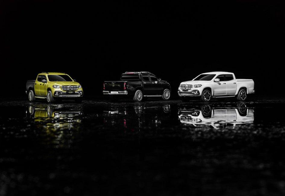 Mercedes-Benz X-Class: Αυτό είναι το πιο πολυτελές pick-up!