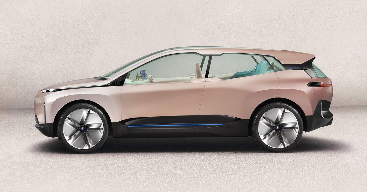 BMW iX: Το ηλεκτρικό SAV θα υποστηρίζει δίκτυο 5G