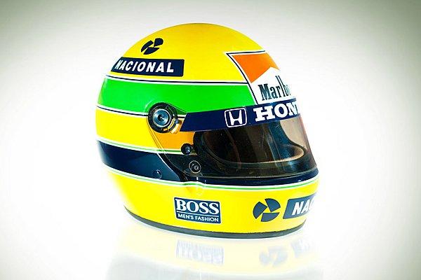 Αυτή είναι η ιστορία πίσω από το κράνος του Ayrton Senna (Video)