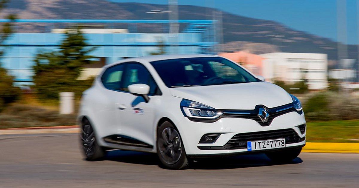 Σταθερό στον δρόμο το νέο Renault Clio 1.5 dCi 110 PS