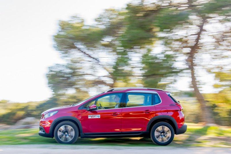 Το look ενός SUV για το Peugeot 2008 1.2 PureTech 110PS με το κιβώτιο EAT6