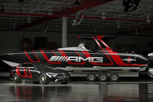 Επίσημη πρεμιέρα του Cigarette Racing 41 AMG Carbon Edition