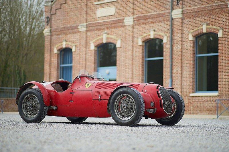 Alfa Romeo 8C «Scuderia Ferrari».