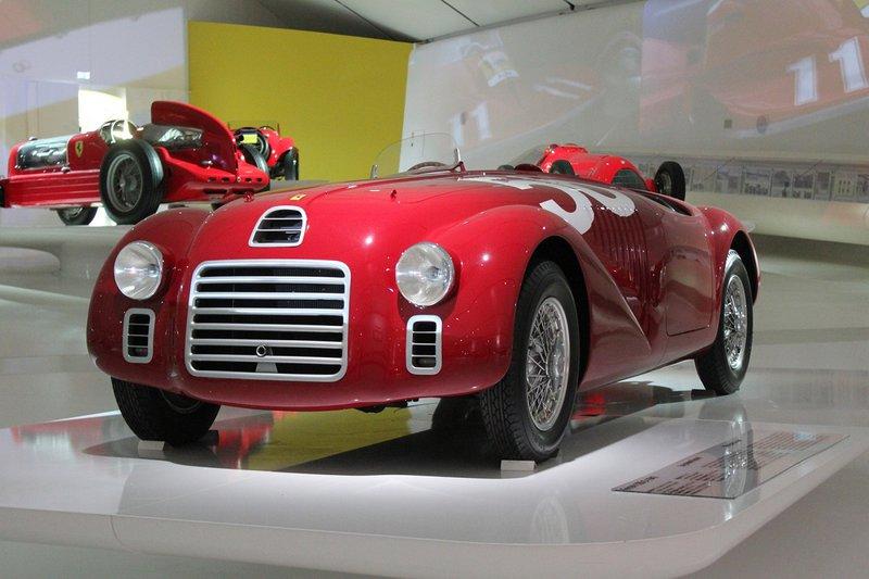 H Ferrari 125 S. Το πρώτο αυτοκίνητο στην ιστορία της εταιρείας.