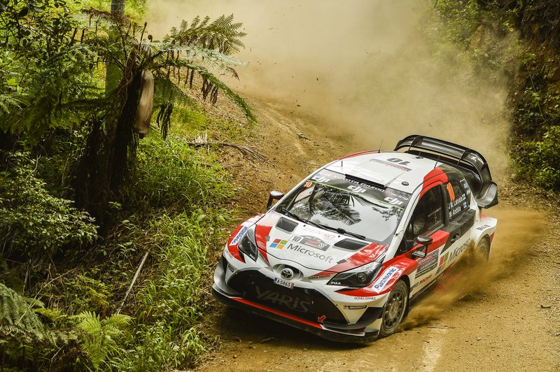 Για την Toyota τα τρία εργοστασιακά Yaris WRC της GAZOO Racing WRT θα οδηγήσουν οι Φινλανδοί Jari-Matti Latvala (φωτό) και Esapekka Lappi, και το «νέο αίμα» της ομάδας, ο Ott Tanak.
