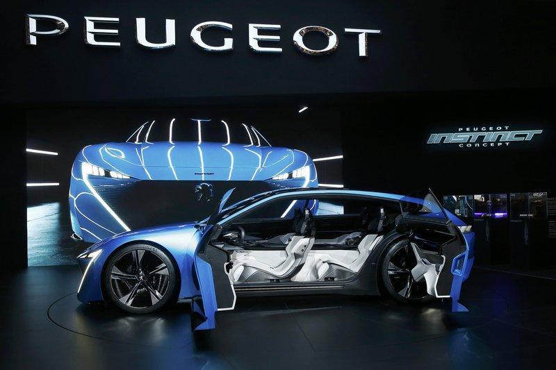 Peugeot Instinct Concept / Reuters