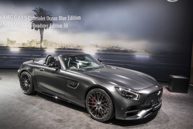 Mercedes-AMG GT C Roadster Edition 50 / Reuters