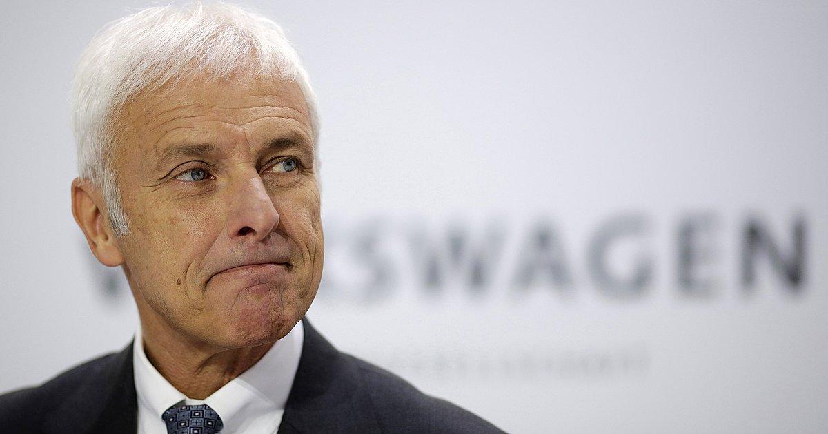 Matthias Muller (CEO Volkswagen Group)