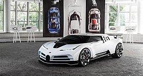 Αποκάλυψη για την Bugatti Centodieci!
