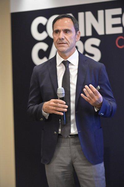 O κ. Γεώργιος Βασιλάκης, Πρόεδρος του Συνδέσμου Εισαγωγέων Αντιπροσώπων Αυτοκινήτων και Δικύκλων.