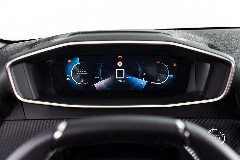 O 3D πίνακας των οργάνων είναι σημείο αναφοράς στο νέο Peugeot 208