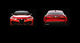 To νέο σχεδιαστικό πρόσωπο της Alfa Romeo Giulia