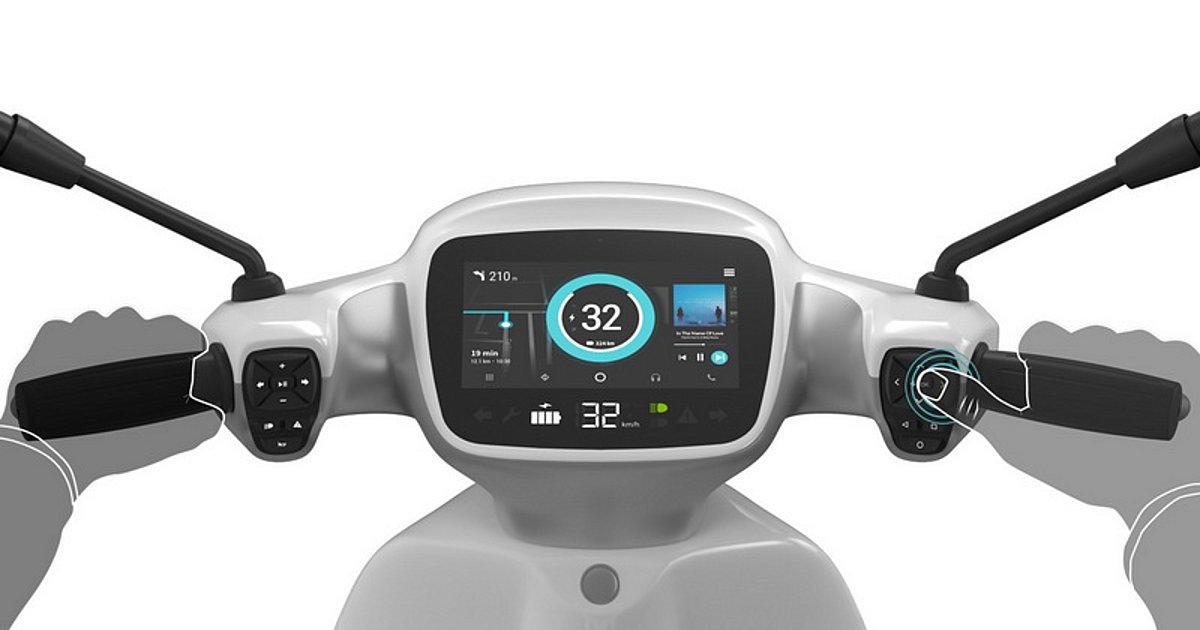 Το Bolt Scooter προσφέρει συνδεσιμότητα GPRS, 3G, 4G, Bluetooth και WiFi στον στάνταρ εξοπλισμό