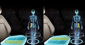 H Jaguar Land Rover εξέλιξε κάθισμα που προσομοιώνει το περπάτημα