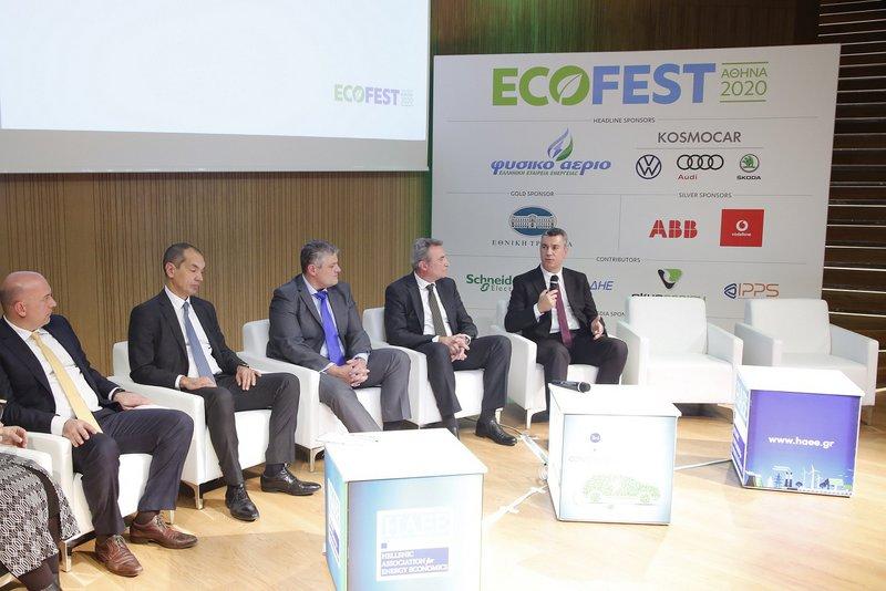 O κ. Ανδρέας Χαλμπές, Διευθυντής Πωλήσεων και Marketing της Kosmocar-Skoda, αναφέρθηκε στη γκάμα της Skoda που πλέον διαθέτει τόσο ηλεκτρικά όσο και plug-in υβριδικά μοντέλα και η οποία μέσα στο 2020 θα εμπλουτιστεί περαιτέρω.