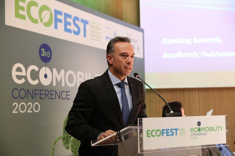 O κ. Θανάσης Κονιστής, Διευθυντής Πωλήσεων και Marketing της Kosmocar-Volkswagen.