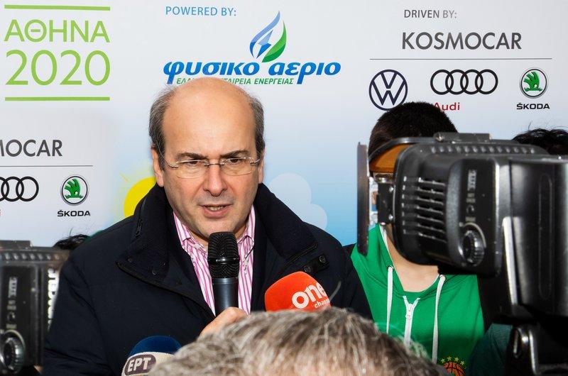 Τα εγκαίνια του Eco-Fest 2020 έκαναν ο Υπουργός Περιβάλλοντος και Ενέργειας Κωστής Χατζηδάκης.