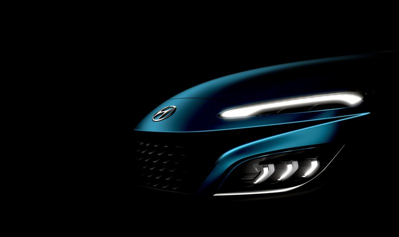 Teaser για το ανανεωμένο Hyundai Kona