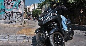 Test Yamaha Tricity 300 2020 - Τρίτωσε το καλό