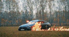 Ρώσος έκαψε μία... προβληματική Mercedes-AMG GT