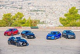 Mega Test: To νέο Toyota Yaris απέναντι στον ανταγωνισμό