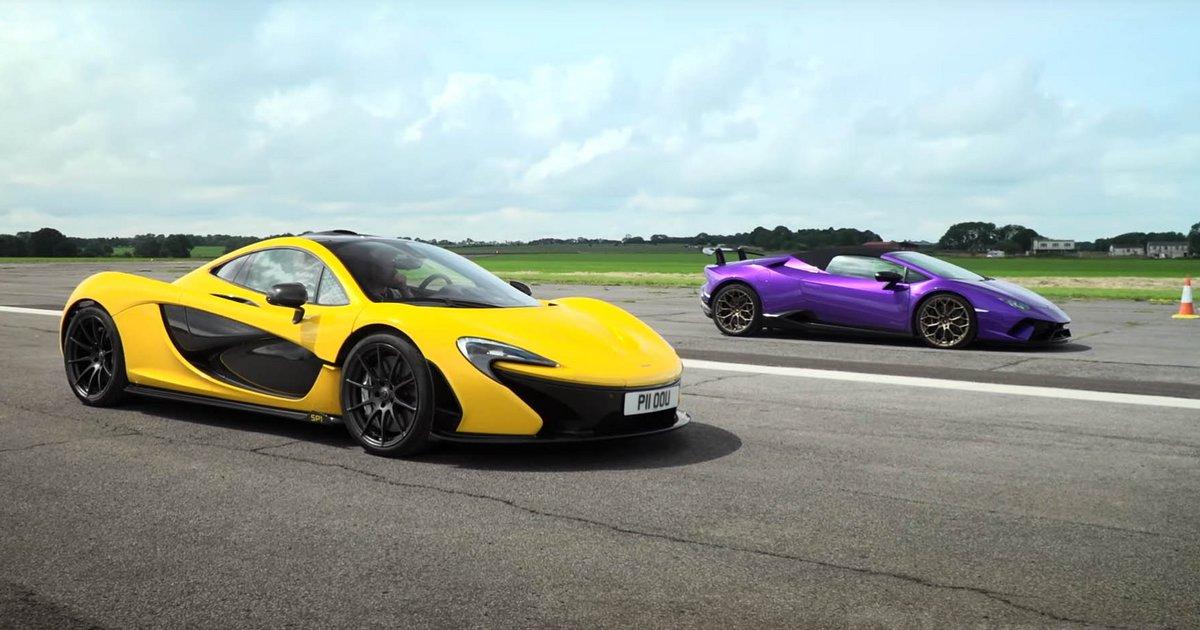 """Μπορεί το McLaren P1 να """"ρίξει"""" στο Huracan;"""