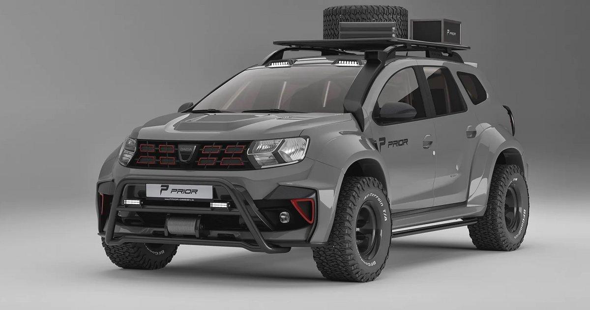 Προηγούμενο σχέδιο Το Dacia Duster κλείνει