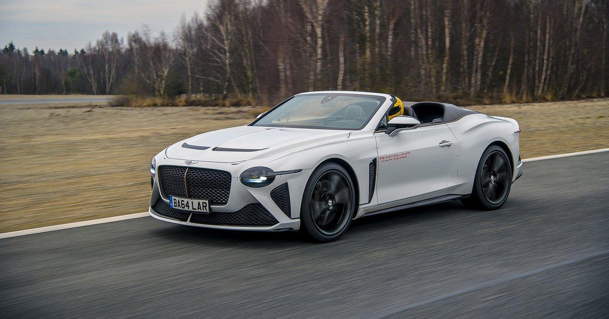 Το εξωτικό Bentley Bacalar περνά το τελικό στάδιο των δοκιμών