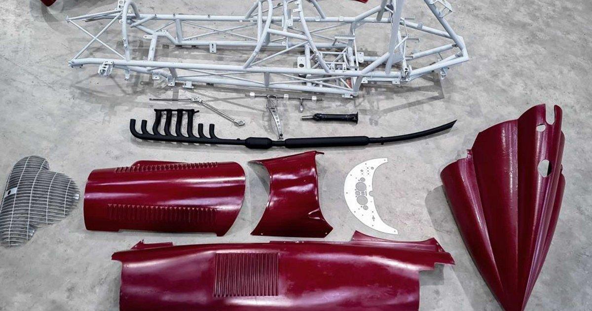 Ένα εκπληκτικό κιτ μετατρέπει το Mazda MX-5 σε αυτοκίνητο F1