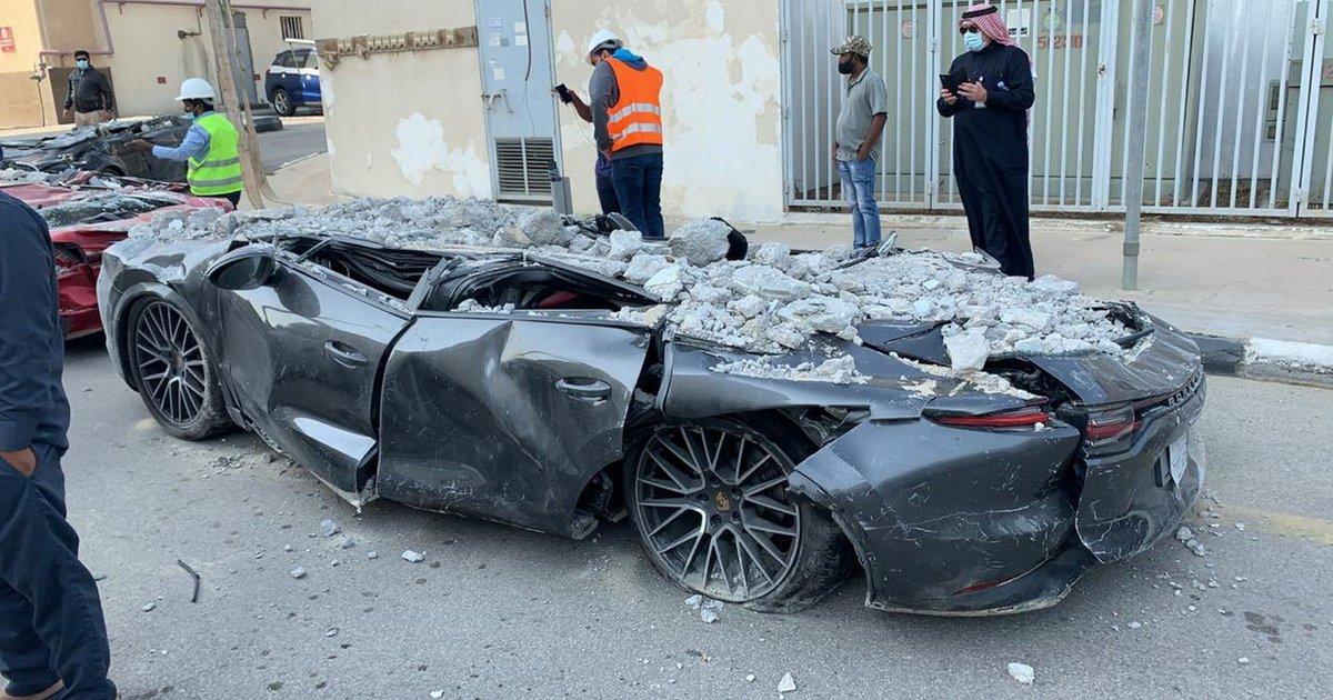 Το συγκλονιστικό βίντεο της κατάρρευσης ενός πολυώροφου χώρου στάθμευσης