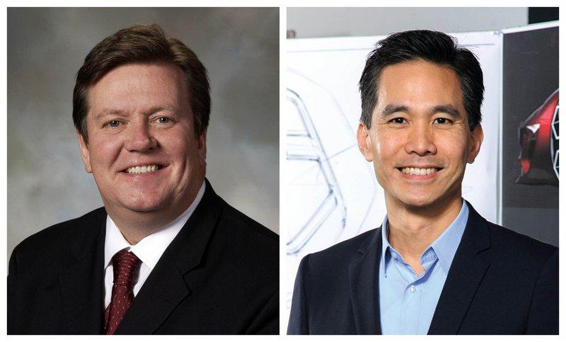 Ο Moray Callum (αριστερά) και ο Anthony Lo (δεξιά)