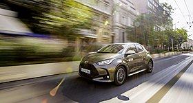 To Toyota Yaris Ευρωπαϊκό Αυτοκίνητο της Χρονιάς για το 2021