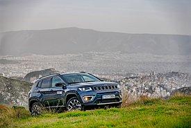 Δοκιμάζουμε επί ελληνικού εδάφους το plug-in υβριδικό Jeep Compass