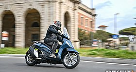 Video Test Piaggio Beverly 300/400 (2021)