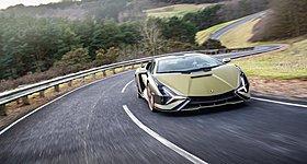 Δοκιμάζουμε την εκπληκτική και υβριδική Lamborghini Sian FKP 37