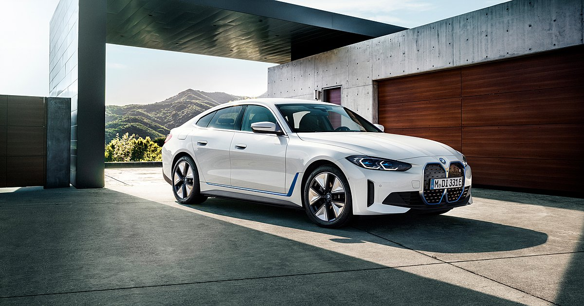 BMW i4: Επίσημη αποκάλυψη και για την Μ έκδοση i4 Μ50