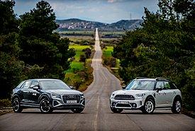 Συγκρίνουμε: Audi Q2 35 TFSI 150 PS S-Tronic vs MINI Cooper S Countryman 178 PS Steptronic