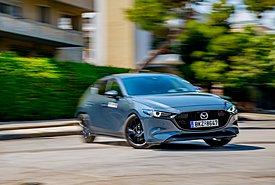 Δοκιμάζουμε το αναβαθμισμένο Mazda 3 Hatchback 2.0 e-Skyactiv X 186 PS