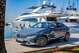 Δοκιμάζουμε τη baby limo BMW 216d Gran Coupe