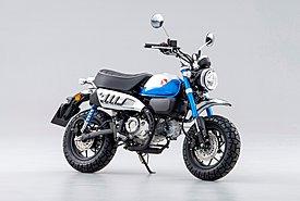 Honda Monkey 125 2022: Νέος κινητήρας με πεντατάχυτο κιβώτιο