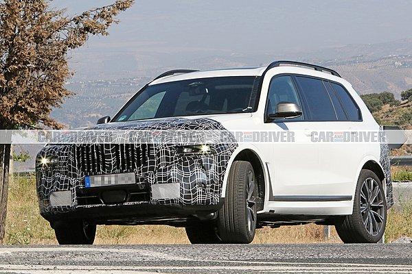 Η νέα BMW X7 με λιγότερο καμουφλάζ!