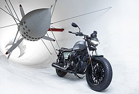 Το 2021 η Moto Guzzi γιορτάζει τα 100 χρόνια ιστορίας της