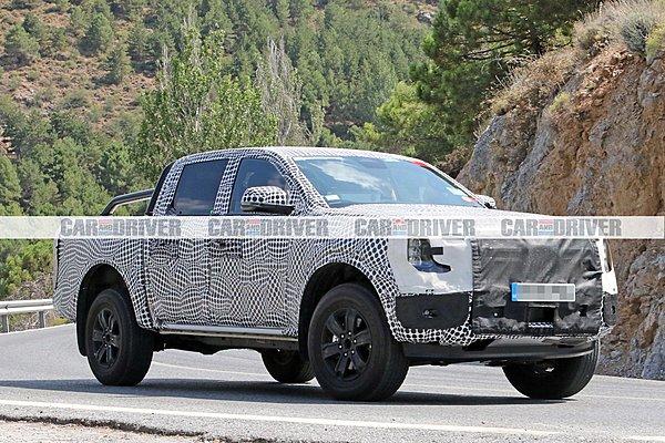 Το νέο Ford Ranger εξελίσσεται σε συνθήκες καύσωνα
