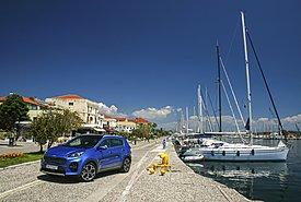 Στην Πρέβεζα με Kia Sportage 1.6D 136 PS 4X4 DCT GT-Line 48V Hybrid