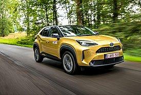 Οδηγούμε στο Βέλγιο το νέο compact SUV Toyota Yaris Cross (video)