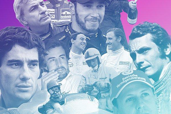 The fastest of all time: Οι 25 ταχύτεροι οδηγοί όλων των εποχών!