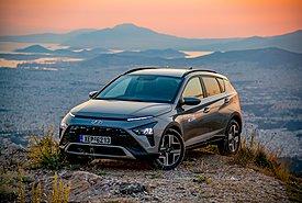 Δοκιμάζουμε το νέο προσιτό crossover Hyundai Bayon 1.0T-GDi 100 PS