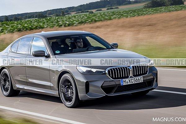 Οι πρώτες εικόνες της επερχόμενης BMW 5 Series
